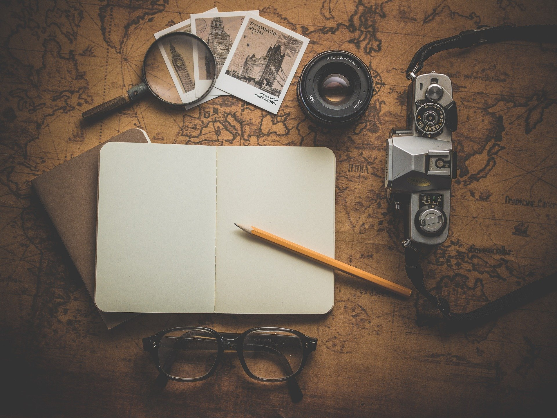 Travelling Improves Your Writing Skills